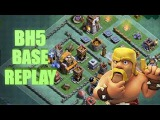 Непобедимая база 5 Дома строителя, Builder Hall 5 Base BH5 Builder Base + Defense Replay