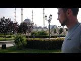 В г.Грозном. на проспекте Путина. Мечеть Сердце Чечни