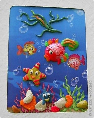Мастер класс аквариум из пластилина