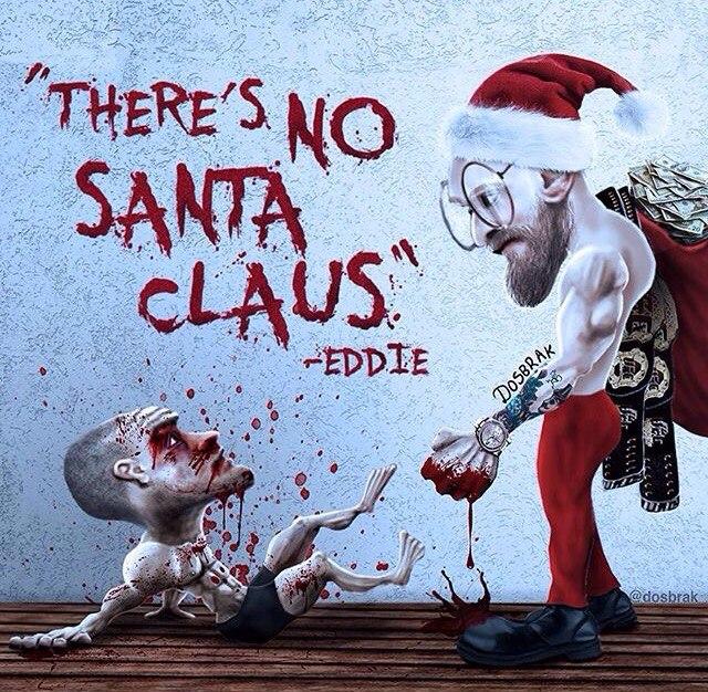 Эдди Альварес: «Санта Клауса не существует»