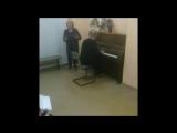 Фрагмент концерта в нашем клубе на День Учителя
