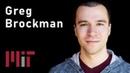 MIT AI: OpenAI and AGI (Greg Brockman)