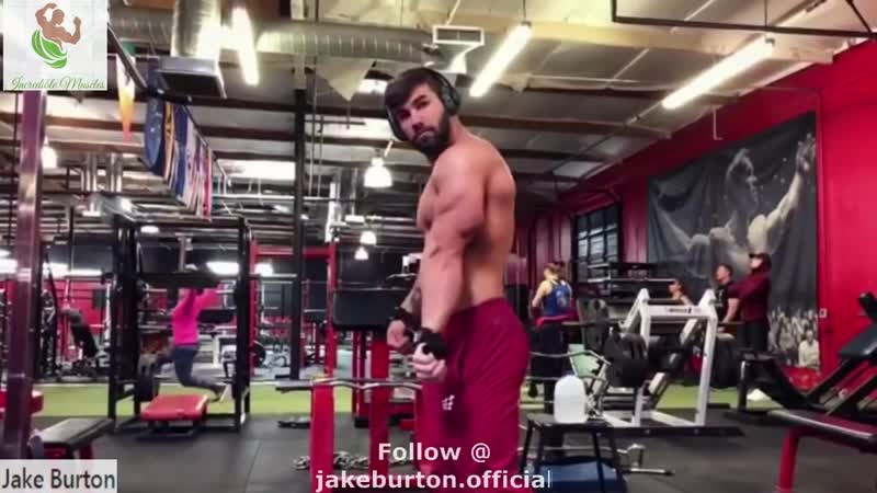 """25 years old 5'10"""" Tall Muscular Bodybuilder Jake Burton Posing flexing"""