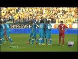 Зенит 5:0 Норшелланн.Все голы.Обзор матча.(07.08.13) 720 HD!