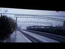Путепровод рухнул на Транссибирскую магистраль