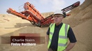 Terex Finlay 674 inclined with commentary