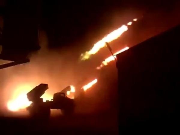 (Loud) 120x 122mm Artillery Rockets in 10 seconds. BM-21 Grad