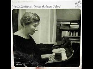 Landowska / Wanda Landowska, 1951: Bouree a'Auvergne - RCA, LM 2830