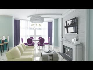 Дизай-проект для двухкомнатной квартиры