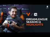The DreamLeague Season 11 Highlights