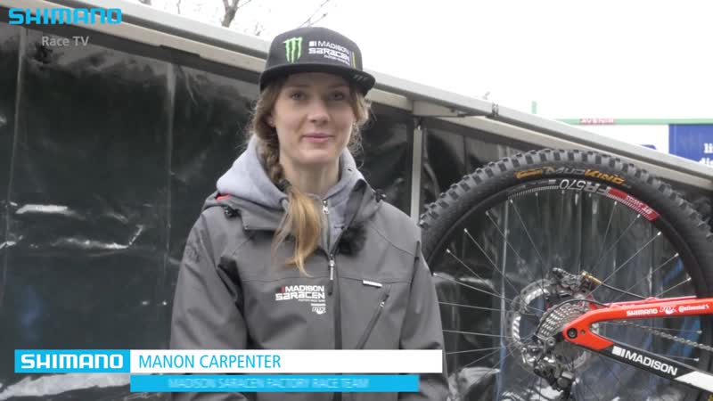 Bike Talk - Manon Carpenter about her Saracen Team Carbon Myst _ SHIMANO