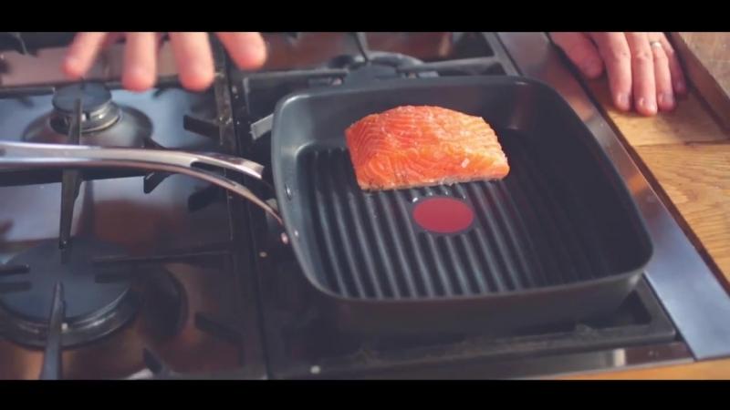 Секрет приготовления лосося на сковороде-гриль