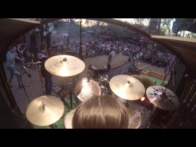 RAD Nonsense - Chases ( drum cam, Bony Katt)