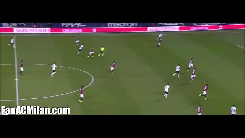 18 тур Болонья 0-1 Милан (08.02.2017)