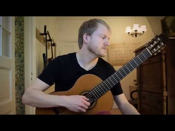 Romance - Rene Bartoli (Acoustic Classical Guitar Cover by Jonas Lefvert)