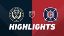 Philadelphia Union vs. Chicago Fire | HIGHLIGHTS - July 20, 2019
