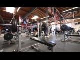 Mike Rashid 315lb bench press x 100 reps Raw Footage