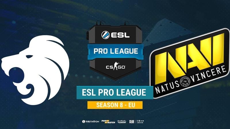 North vs Na`Vi ESL Pro League S8 EU bo1 de train CrystalMay Smile