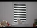 Рулонные шторы Зебра ткань Монтана Янино 1