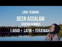 DEEN ASSALAM LIRIK Cover Sabyan Gambus dan terjemahannya (Arab Latin Arti)