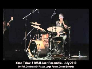 Nothing Personal / Ximo Tebar & Donald Edwards / Guitar & Drums Solo