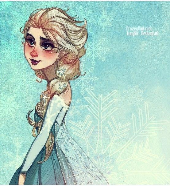 Анна Макияж - игры Холодное Сердце