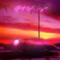 NewRetroWave car GIF The Neon Droid - Planet Neon J U S T R E L A X