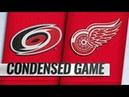 Carolina Hurricanes vs Detroit Red Wings - Oct.22, 2018   Game Highlights   NHL 2018/19  Обзор Матча