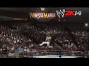 """WWE 2K14"" How-To: Shawn Michaels vs. Bret Hart WrestleMania 12"