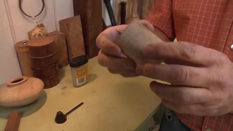 Making an Elegant Coffee Scoop