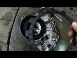 Видео про то как выглядит сгоревшее сцепление на Yamaha TTR 250 Raid