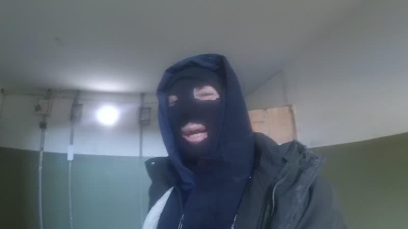 ббсч в маске для ограбления банков и склянков