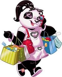 картинки панда мультяшные