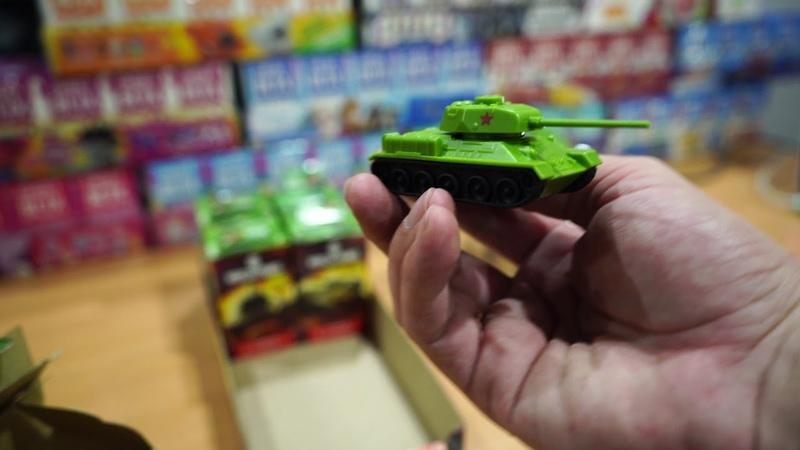 Рапаковка Свитбокс WOT World of Tanks