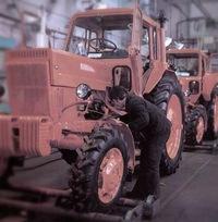 Трактор МТЗ-50 - технические характеристики, фото.
