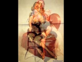 Эротика, эротика в живописи,ню, арт-эротика,пин-ап крошки,часть 2