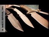 SHOT Show 2013 - 3 NEW Survival Knives from Spartan Blades. Made in the USA. NICE!!!