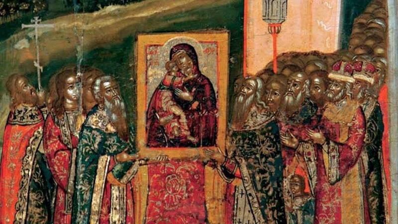 Православный календарь. Сретение Владимирской иконы Пресвятой Богородицы. 8 сентября 2018