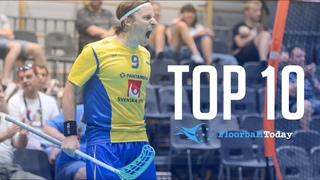 TOP 10 FLOORBALL PLAYERS IN THE WORLD (UPDATED)