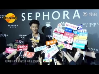 [VIDEO] 180831 Tao Interview @ SEPHORA Event | ENG SUB