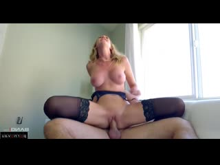 Manuel Ferrara & Brett Rossi [ In stockings,Чулки &  Mothers / Pussy, Beautiful lingerie, Cumshot in mouth, In clothes, In p