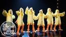 Jimmy Fallon and the Backstreet Boys Cluck Everybody Backstreet's Back