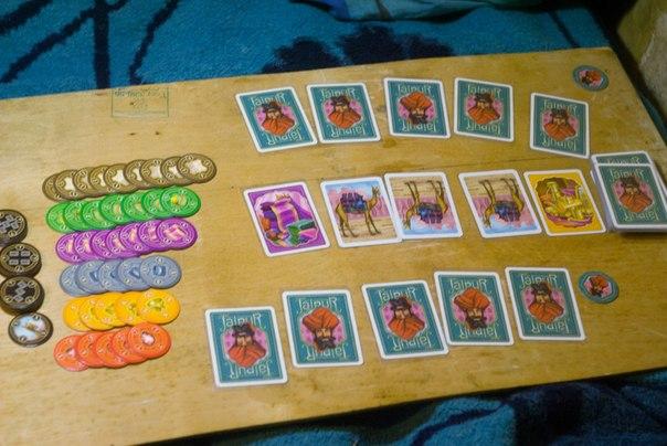 Джайпур, настольные игры, обзор игры
