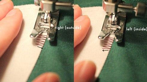Как шить ровно на швейной машинке
