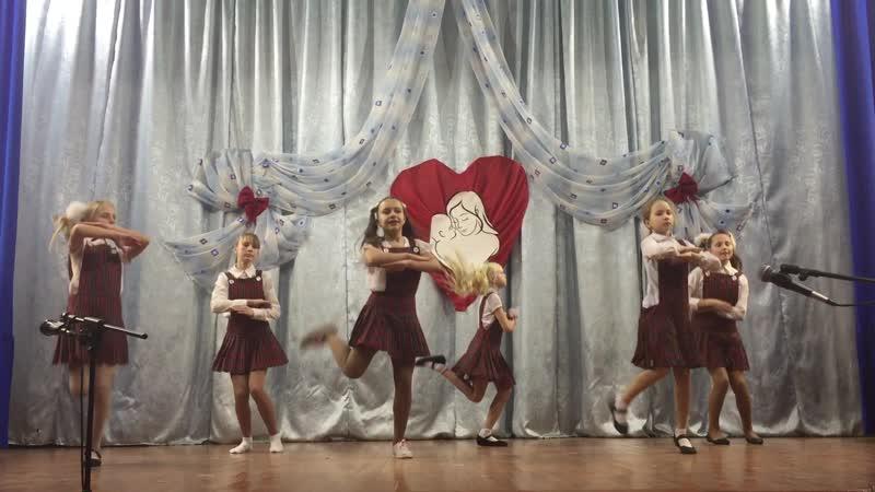 Концерт на день матери Танц кол в Серпантин МЫ МАЛЕНЬКИЕ ДЕТИ