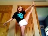 ВЫЗОВ ОТ ГИМНАСТКИ. Gymnastics challenge.