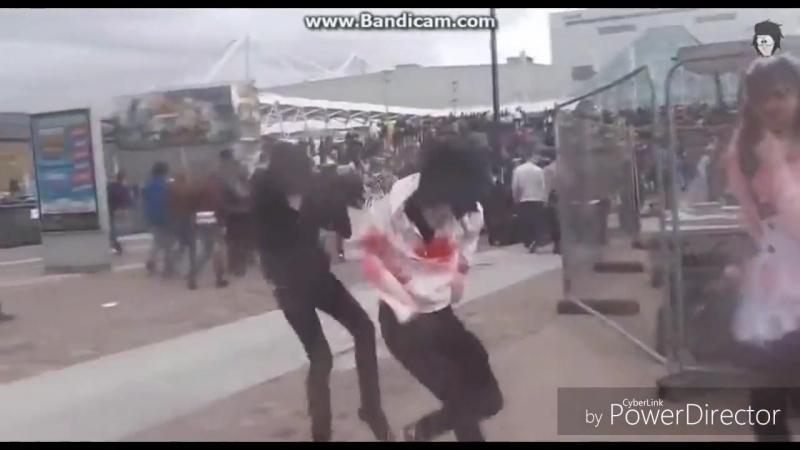 Джефф убийца - танцует как пьяный!)