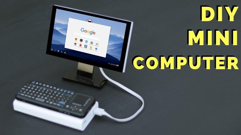 How To Make Mini Computer at Home - Mini PC Build