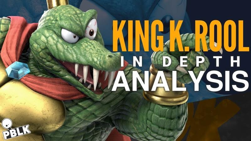 Smash Bros. Ultimate - K. Rool In-Depth Analysis (Moveset, Frame Data, References)