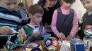 Дети делают многогранники: икосаэдр, октаэдр, тетраэдр, куб с сечениями
